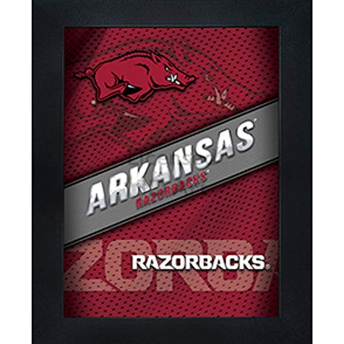 Arkansas Razorbacks 3D Poster Wall Art Decor Framed Print   14.5x18.5   U of A Lenticular Posters & Pictures   Gifts for Guys & Girls College Dorm Room   NCAA Sports Fan Big Red Team Logo & Mascot