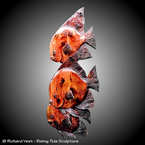 angel-fish-trio-wall-sculpture