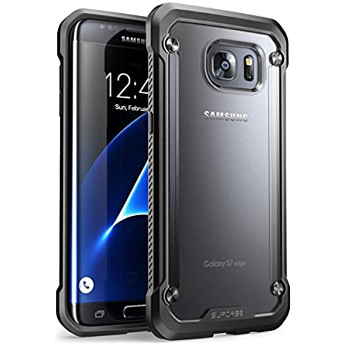 Galaxy S7 Edge Case, SUPCASE Unicorn Beetle Series Premium Hybrid Protective Clear Case for Samsung Galaxy S7 Edge 2016 Release, Retail Package (Frost Sales