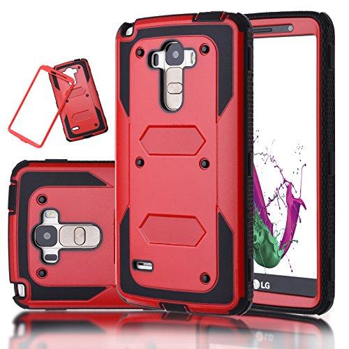 LG G Stylo / LG G Stylus Case, LG H631 / MS631 Case, For LG G4 Stylus 2in1 Hybrid Full-Body Shock Abortion Amror Slim Fit ShockProof Hard&Soft Heavy Duty High Impact Case Cover Shell
