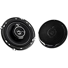 "Kenwood KFC-1695PS 6 1/2"" Performance Series 3-Way Flush Mount Coaxial Speaker"