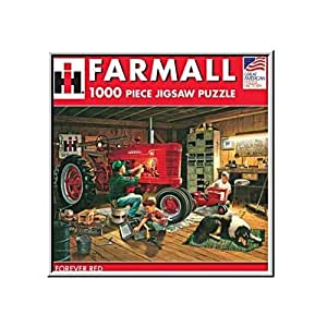 Amazon Com Great American Puzzle Factory Forever Red