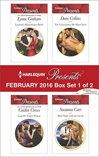 book cover of Harlequin Presents February 2016 - Box Set 1 of 2