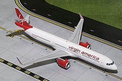 Gemini200 Virgin America A321neo N921VA 1:200 Scale Diecast Model Airplane Die Cast Aircraft