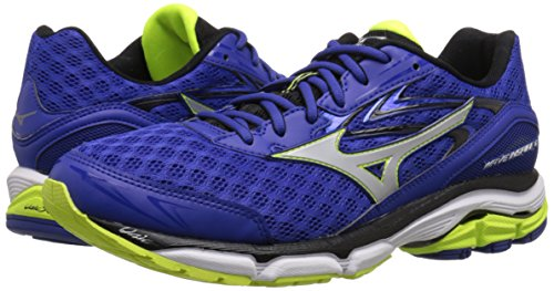 Pictures of Mizuno Men's Wave Inspire 12 Running Surf the Web/Silver 4
