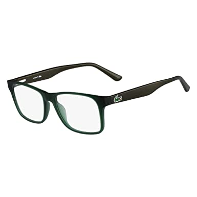 f0b7e91e4e6 Image Unavailable. Image not available for. Color  Eyeglasses LACOSTE L  2741 315 GREEN MATTE