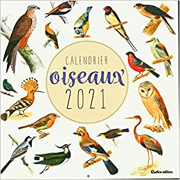 Calendrier oiseaux 2021 (LES MILLESIMES) (French Edition