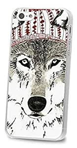 Diy For Touch 5 Case Cover AFYCOLOR Hard PC Material with 4D UV Embossing Craft Print - Animal Series of Mr Fox