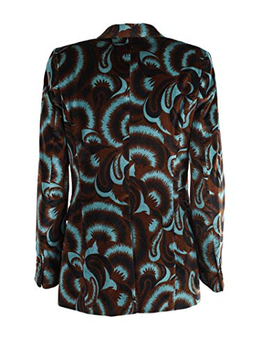 Cotone 04526293508508 Blazer DRIES VAN Blu Marrone Donna NOTEN ECqqXIw