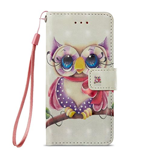 Amazon.com: iPhone 7 Case/iPhone 8 Case,Fashion Magnetic Pu Leather Wallet Cover Shock Proof Kickstand Cover with Inner Soft Bumper Card Holder with Wrist ...