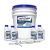Opti-Lube Winter Formula Diesel Fuel Additive: 5 Gallon Pail with Accessories, (1 Plastic Hand Pump & 4 Empty 8oz Bottles) Treats up to 2,560 Gallons of Diesel Fuel