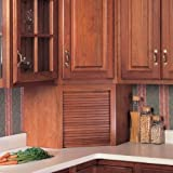 """Omega National Products 24"""" Corner Appliance Garage - Red Oak A0100OUF1"""