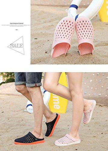 Damen Rosa Strandschuhe Gaatpot 44 Herren 36 für Atmungsaktiv Hausschuhe Slippers Clogs Schuhe Unisex Sandalen Aqua Pantoletten Beach Sommer UwqTOUFB