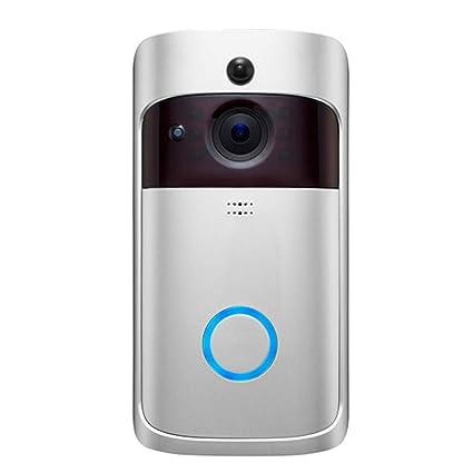 Amazon com: Doorbell Smart Door Bell WiFi Wireless Video 166