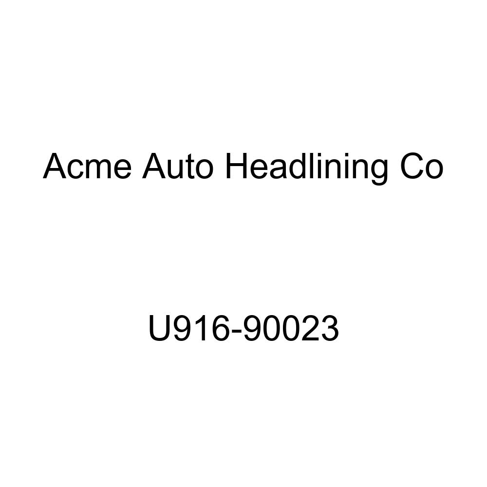 Acme U916-90023 Front and Rear Light Blue Vinyl Bench Seat Upholstery