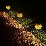 Ulmisfee Garden Solar Lights Pathway Outdoor