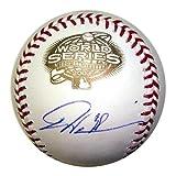 Dontrelle Willis Autographed Florida Marlins 2003 World Series Logo Baseball