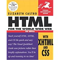 HTML for the World Wide Web with XHTML and CSS: Visual QuickStart Guide (Visual Quickstart Guides)