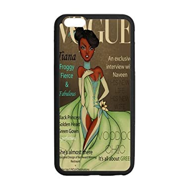 buy popular c2c14 9eecf TPU iPhone Case, Vogue Princess Tiana iPhone 6 (4.7 inch) Cover ...