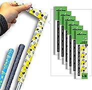 Alien Pros Golf Grip Wrapping Tapes - Innovative Golf Club Grip Solution - Enjoy a Fresh New Grip Feel in Less
