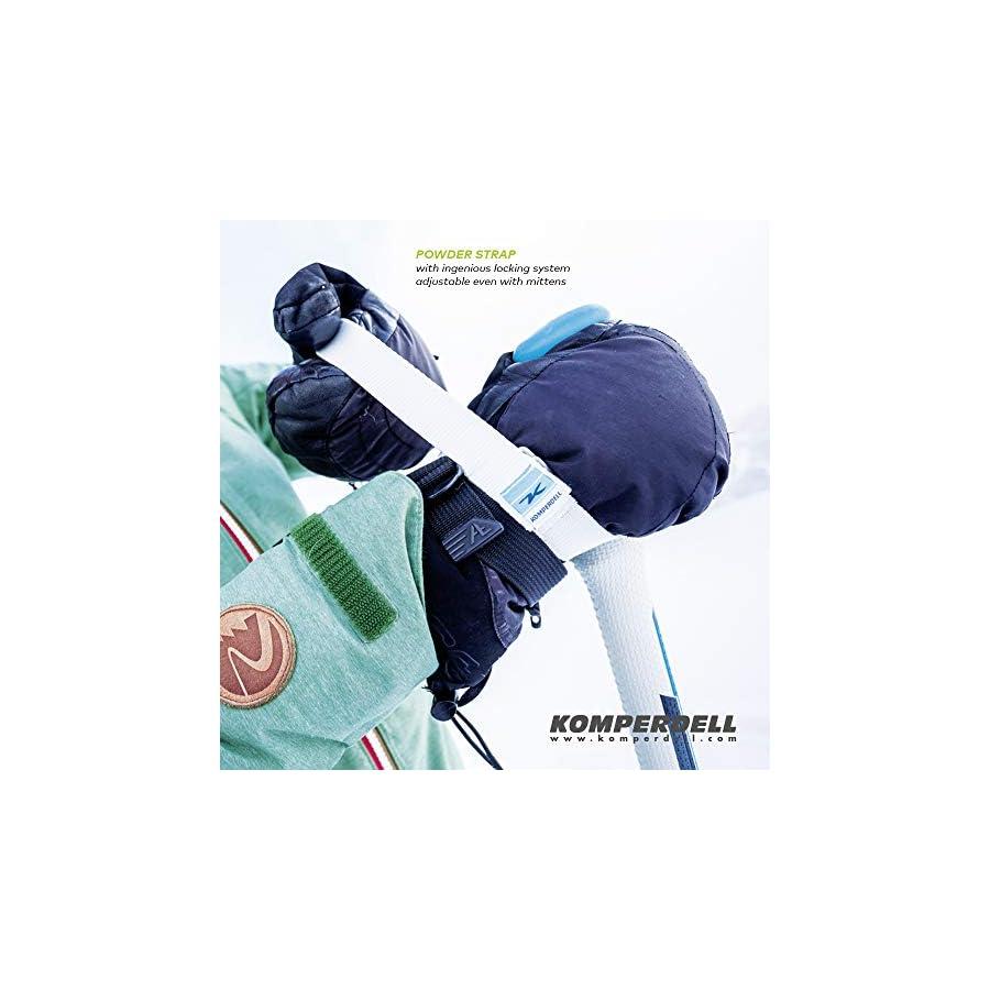 Komperdell 148231210 Fatso Carbon, Green, 130cm