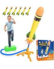 DEVRNEZ 6 stuks verbeterde raketten voor kinderen, outdoor/tuin/indoor speelgoed - geschenken voor jongens en meisjes