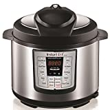 #1: Instant Pot LUX60 V3 6 Qt 6-in-1 Muti-Use Programmable Pressure Cooker, Slow Cooker, Rice Cooker, Sauté, Steamer, and Warmer