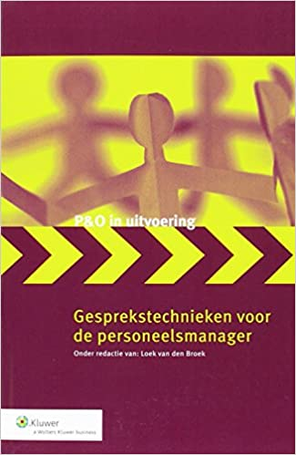 Book Gesprekstechnieken voor de personeelsmanager (P&O in uitvoering)
