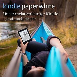 Kindle Paperwhite eReader, 15 cm (6 Zoll) hochauflösendes Display (300 ppi) mit integrierter Beleuchtung, WLAN (Weiß)