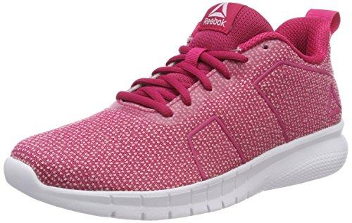 Aschgrau Reebok Cn0528 Damen Schwarz Grau Squad 000 Weiß Weiß Laufschuhe Pink Pink Overtly Rosa X5rXdwq