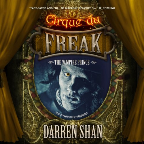 The Vampire Prince: Cirque Du Freak 6 Audiobook [Free Download by Trial] thumbnail