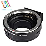 Viltrox EF-M1 Auto Focus lens mount adapter AF ,EXIF Adapter for Canon EF/EF-S Lens to M4/3 Olympus /Panasonic cameras