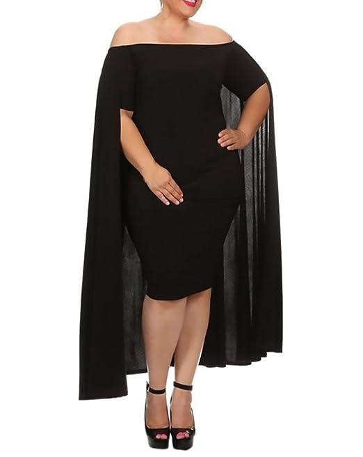 Mujer Vestido Mujer Fiesta Moda Parche Work Irregular Vestidos De Noche Sencillos Especial Largo Corto Arm Sin Tirantes Barco Cuello Slim Fit Paquete De ...