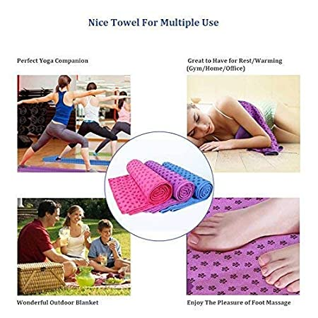 Amazon.com: CD CDREAM - Toalla de yoga de alta calidad ...