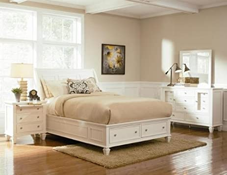 California King Bed With Footboard Storage Coaster   201309KW
