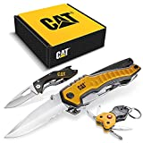 Cat 3 Piece Multi-Tool and Pocket Knife Gift Set