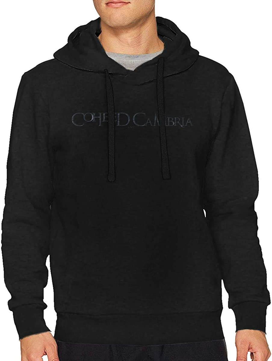 RobertAGonzalez Coheed and Cambria Mens Sports Athletic Running Pullover Outdoor Hoodie Long Sleeve Sweatshirt