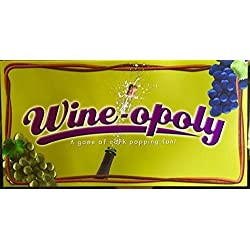 Wine-opoly Limited Edition Monopoly Wine Board Game with Metal Pewter Movers