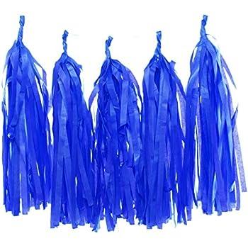 Amazon Tissue Paper Tassel Garland Navy Blue Party Tassels