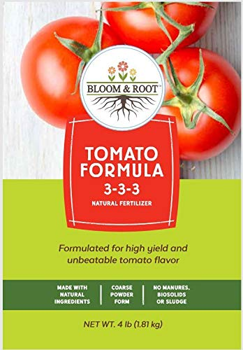 Bloom and Root Tomato & Vegetable Plant Food Grow Big Best Tasting Tomatoes 4 Pounds