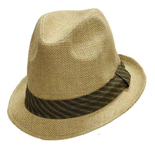 WHILLAS & GUNN Light weight Straw Summer hat (Lightweight Oilskin)