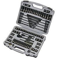 Stanley 99-Piece Black Chrome and Laser Etched Socket Set