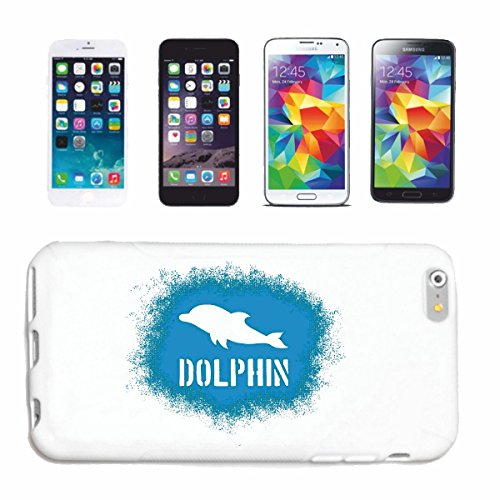 "cas de téléphone iPhone 6+ Plus ""DOLPHIN DOLPHIN FLIPPER OCEAN MEDITERRANEE dophin"" Hard Case Cover Téléphone Covers Smart Cover pour Apple iPhone en blanc"