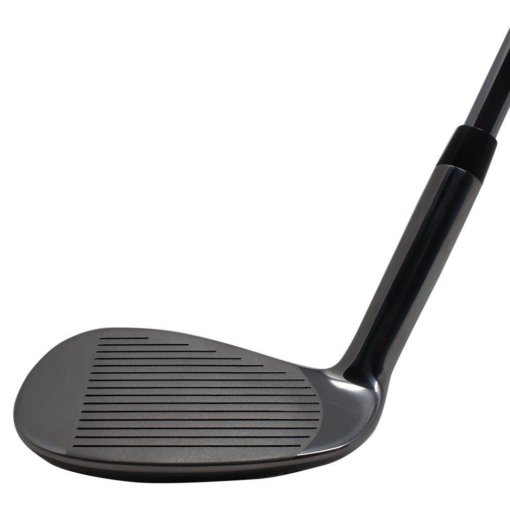Extreme X5 +2 inch over XL Big & Tall Men's Complete Wedge Set: 52° Gap Wedge (GW), 56° Sand Wedge (SW), 60° Lob Wedge (LW) Right Handed Regular Flex (Tall 6'3''+ / +2''Over) Jumbo Black Pro Velvet Grip by Extreme X5 (Image #5)