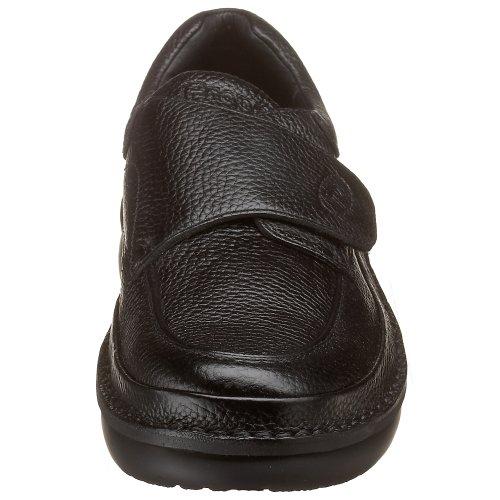 Propet Men's M5015 Scandia Strap Slip-On,Black Grain,9 M (US Men's 9 D)