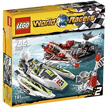 Amazon.com: LEGO World Racers Blizzard's Peak 8863: Toys & Games