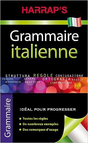 Amazon Fr Harrap S Grammaire Italienne Collectif Livres