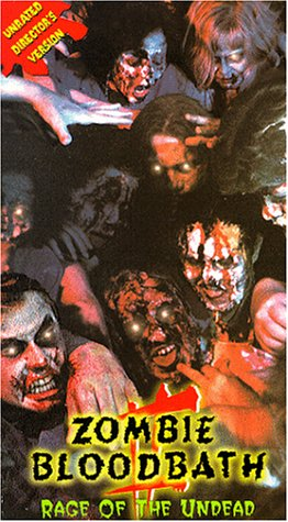 Zombie Bloodbath 2: Rage of the Undead [VHS]
