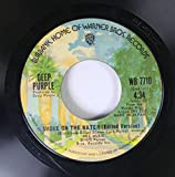 Deep Purple 45 RPM Smoke on the Water / Smoke on the Water