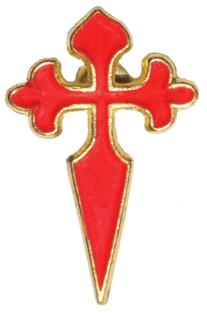 Spilla adesivo croce dei pellegrini